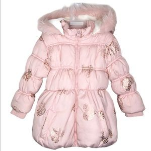 George Jackets & Coats - 2/30$  18-24 months pink winter jacket winter coat